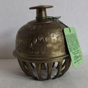 Vintage SARNA Bell Meditation Bell Brass Bell
